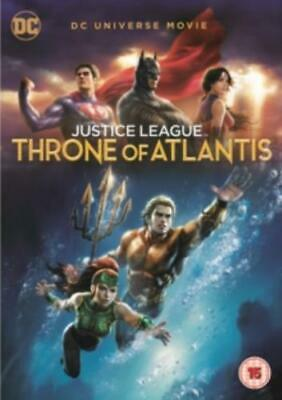 Justice League: Throne of Atlantis =Region 2 DVD,sealed=
