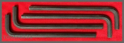 "Allen® Hand Tools 58018 L-Shape Long Arm Hex Key - 1/4"" Tip - Lot of 4!"