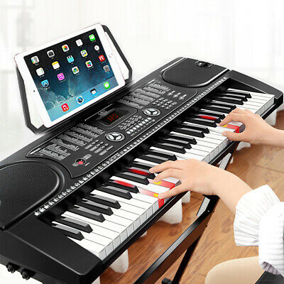 61 Key Digital Music Electronic Keyboard Kids Electric Piano Organ for Beginners