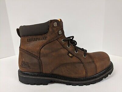 """Cat Whiston 6"""" Work Boot, Brown, Mens 13 M"""
