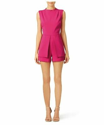 Laundry by Shelli Segal  ADD TO HEARTS Hot Pink Sail Away Romper