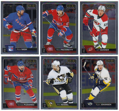 2016-17 O-Pee-Chee Platinum Hockey - Base Cards - Pick From Card #'s 1-150