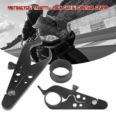 1PC Motorcycle Cruise Control Throttle Lock Assist Retainer Wrist Grip