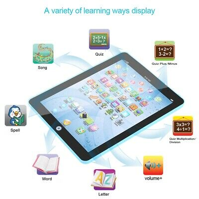 Baby Touch Toy Music Tablet Laptop Learning English Toddler Kids Educational Fun