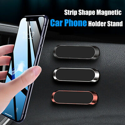 Magnetic Car Phone Holder Strip Shape Durable Magnet Stand For iPhone Samsung US