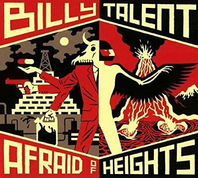 Billy Talent - Afraid of Heights - Billy Talent CD 0MVG The Cheap Fast Free Post