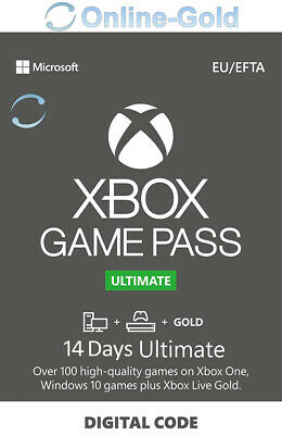 14 Tagen Xbox Game Pass Ultimate Key - Xbox One Digital Code - DE & EU