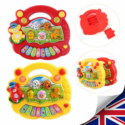 Musical Educational Developmental Music Animal Farms Piano Toy for Kids Baby NEW