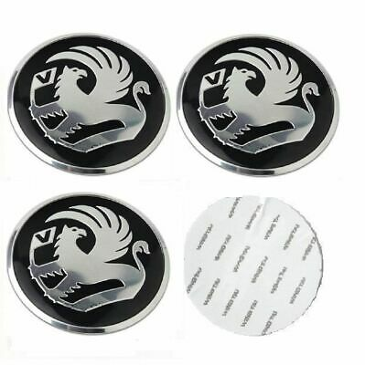 4x Vauxhall STICKERS ONLY Wheel Centre Cap Sticker Set of 56mm Astra Insignia !