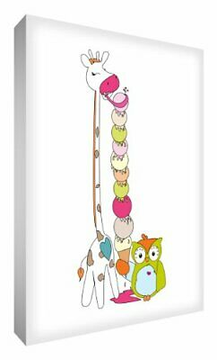 Little Helper GIRICE1216-12G Feel Good Art - Lienzo (40 x 30 cm), diseño del s