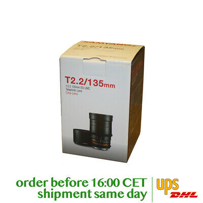 Samyang 135mm T2.2 VDSLR ED UMC for Canon M