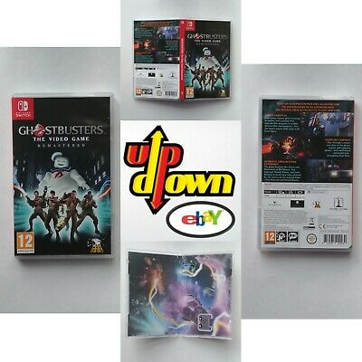Ghostbusters The Video Game Remastered (Switch) Retail BOX ONLY