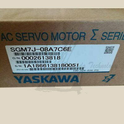 1pc new Yaskawa 7 Series 750W Servo Motor SGM7J-08A7C6E one year warranty