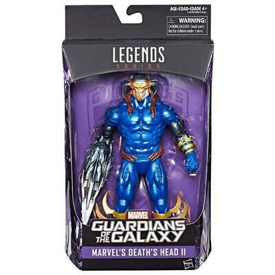 """Marvel Legends Series Guardians Of The Galaxy Death's Head Ii 6"""" Action Figure"""