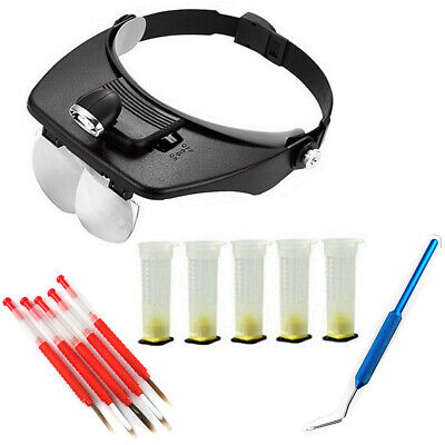 Beekeeping Set Led Light Magnifier Grafting Cannula Bee Tool Practical Equipment
