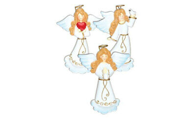 Praying Angel Personalized Christmas Ornament OR1141-A
