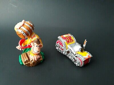 Turbo Charge Donkey Kong + Barrel Blaster Skylanders Superchargers Set Amiibo