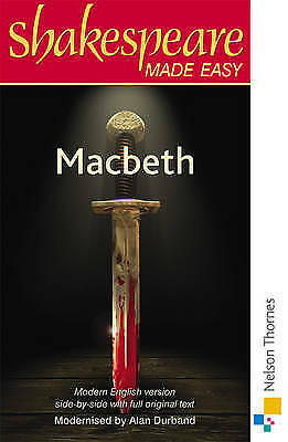 Shakespeare Made Easy: Macbeth by Durband, Alan (Paperback book, 1984)