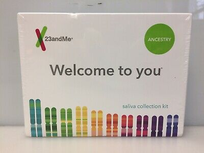 23andMe DNA Test Ancestry Saliva Collection Kit, Expires: 05/2021