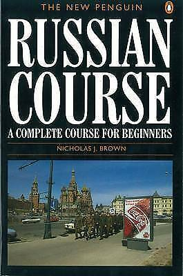 The New Penguin Russian Course by Brown, Nicholas J. (Paperback book, 1996)
