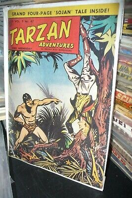 TARZAN ADVENTURES UK PULP Vol.7 No.47, C.1957 [1 ISSUES]