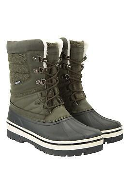 Mountain Warehouse Wms Andorra Thermal Fluffy Womens Snow Boot Snow Boots