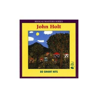John Holt - 20 Greatest Hits - John Holt CD M8VG The Cheap Fast Free Post The