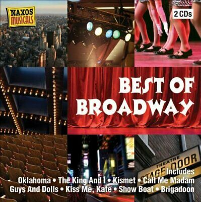 Various Artists - Best of Broadway - Various Artists CD 26VG The Cheap Fast Free