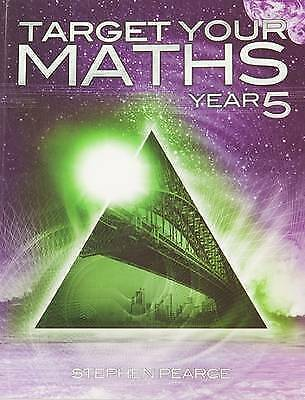 Target Your Maths Year 5 by Pearce, Stephen (Paperback book, 2014)