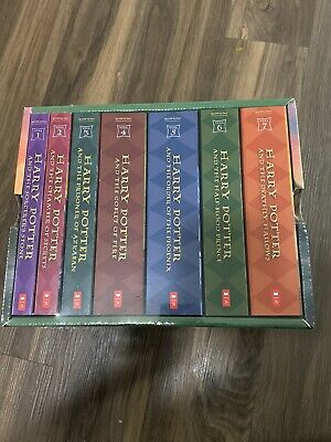 Harry Potter Paperback Boxed Set # 1-7 Brand New Sealed
