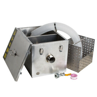 Commercial Safty Use Grease Trap Interceptor Kitchen Restaurant Wastewater Tool