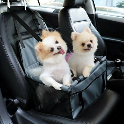 Cat Dog Pet Car Booster Seat Belt Puppy Carrier Travel Safety Protector Basket