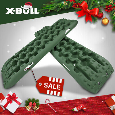 X-BULL 3.0 Recovery Tracks Caravan Sand Mud Snow ATV Off Road Olive-green 4WD