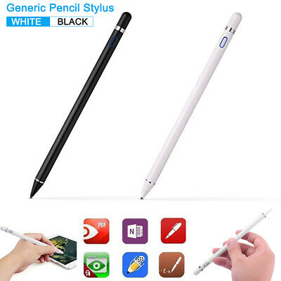 For iPad and Touch Screen Tablets Generic Pencil Stylus Active Capacitive Pen AU