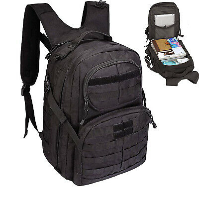 40L Military Tactical Assault Pack Sling Backpack Army Molle Waterproof Rucksack