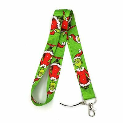 Dr Seuss The Grinch Stole Christmas Characters Lanyard Neck Strap Pin Holder