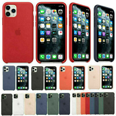 For APPLE iPhone 11 11 Pro Max 2019 Genuine SILICONE Case Liquid Rubber Cover