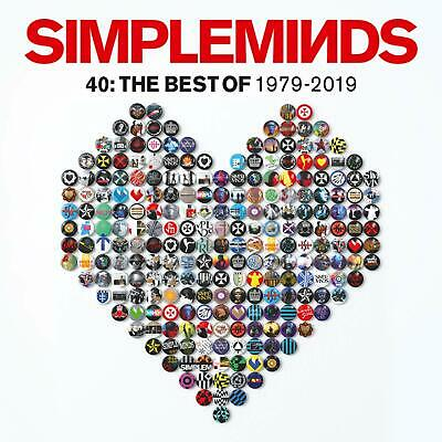SIMPLE MINDS 40: THE BEST OF 1979-2019 CD (Greatest Hits / Very Best Of) (2019)