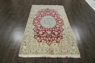 Traditional Antique 100% Wool Handmade Rugs Oriental Carpets 206 X 117 CM