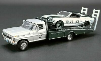 /'73 Ford Falcon XB /'72 Ford F-350 Ramp Truck V8 Mad Max 1:64 GreenLight 29925