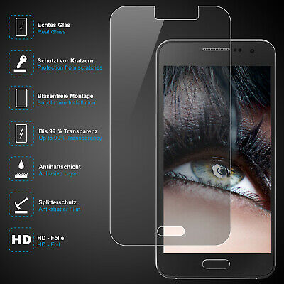 Premium Safety Glass for Samsung Galaxy A3, Real Glass, 0,3mm, 99% Transparent