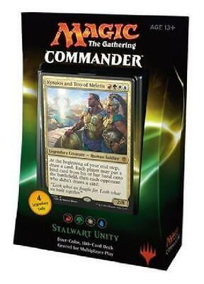 Commander 2016 Stalwart Unity Deck (MTG) New MTG Magic 2B3