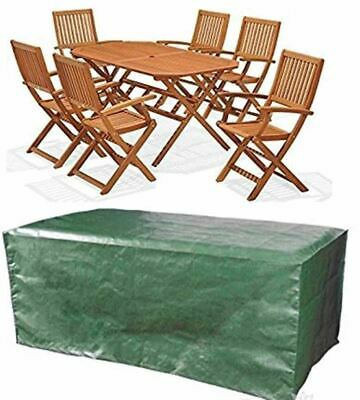 Rectangle Waterproof Outdoor Garden Patio Table Chair Set Furniture Seater Cover