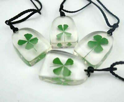 Shop Now  50 pcs magic four leaf clover design shamrock pendant