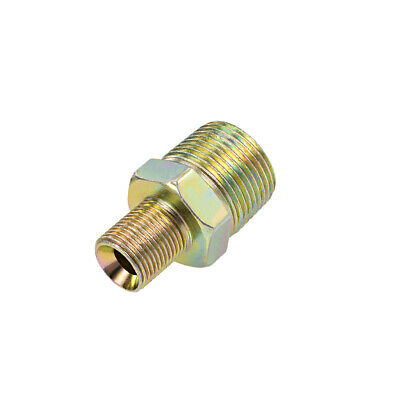 Reducing Pipe Fitting - Reducer Hex Nipple - 3/4 X 3/8 BSP Male Connector