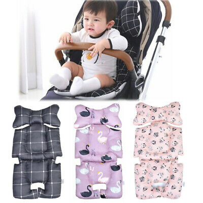 Fashion Printed Stroller Cushion Seat Cover Baby Pad Seat Pad Cotton