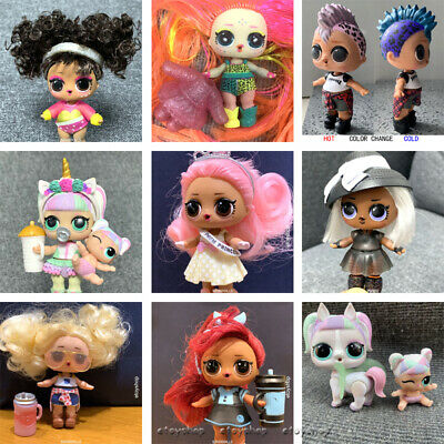 LOL Surprise Dolls HAIRGOALS Unicorn EDMBB Twang Pins Real Toys Winter Disco