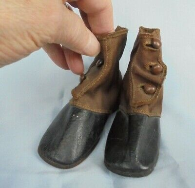 Edwardian Baby's / Child's First Pair Of Shoes