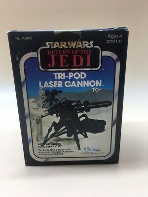 1982 Return Of The Jedi Tri Pod Laser Cannon  Kenner In Box