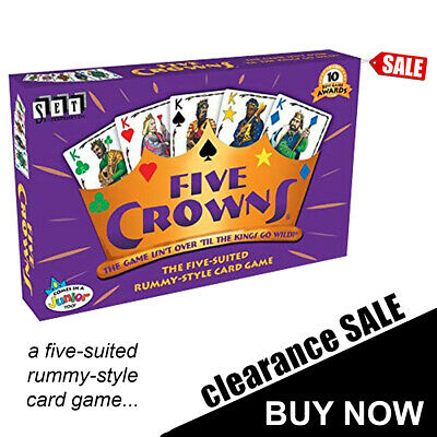 Five Crown Card Game BRAND NEW